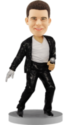 Custom Bobblehead Michael Jackson