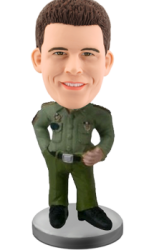 Customized Bobblehead Military