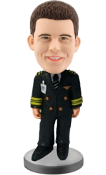 Customized Bobblehead Officer