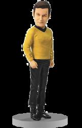Custom Star Trek Captain Bobble Head