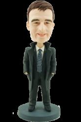 Office Man Personalised Bobblehead