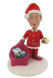Christmas Father Bobblehead