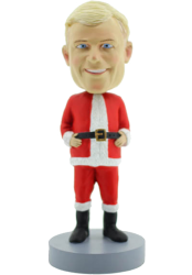 Christmas Stanta  Bobble Head