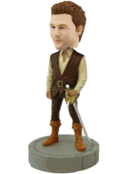 Customized Bobblehead Fencer