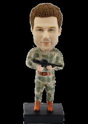Custom Bobblehead Soldier
