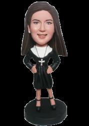 Custom Nun Bobblehead