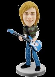 Customized bobblehead Bass Player