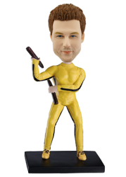 Custom Bobble Head Bruce Lee