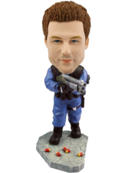 Customised Bobblehead Soldier