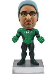 Customised Green Lantern Bobblehead