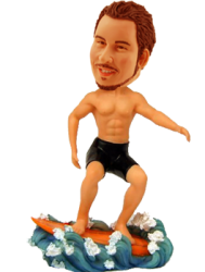 Customised Surfing Bobblehead