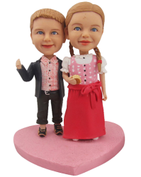Brother and Sister Bobbleheads