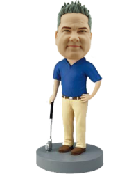 Personalised Golf Buddy Bobble Head