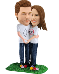 Boyfriend and Girlfriend Bobbleheads