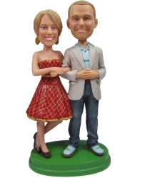 Casual Couple Bobbleheads