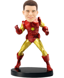Customised Bobblehead Iron Man