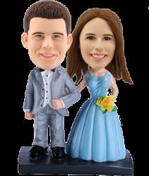Customised Wedding Bobble head