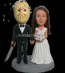 Jason Wedding Custom Bobblehead
