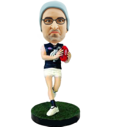 Carlton football bobblehead