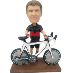 Bicycle Buddy Bobblehead