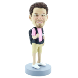 Backpack Bobblehead