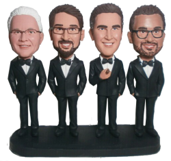 Business Team Bobbleheads