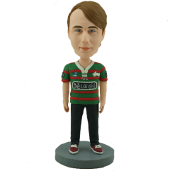 Rabbitohs Football Fan Bobblehead