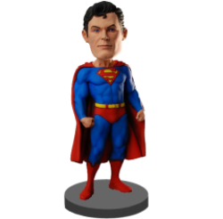 Custom Superman Bobble head