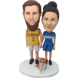 Boyfriend and Girl Friend Custom Bobbles