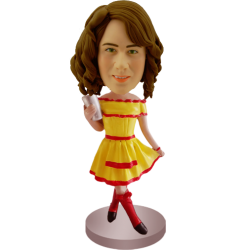 Broke Girls Style Custom Bobble