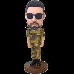 Camouflage Buddy Custom Bobble