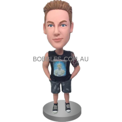 Casual Boy Custom Bobblehead