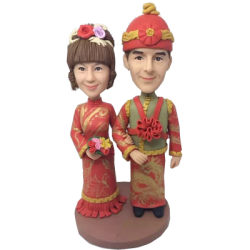 Chinese Style Wedding Cake Topper