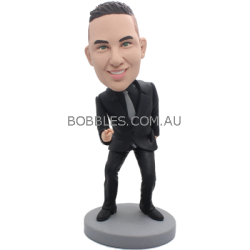 Confident Man Custom Bobble Head