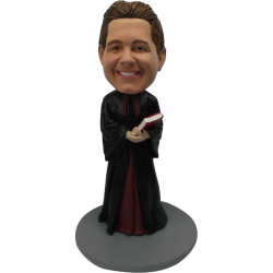 Custom Bobble for Pastor