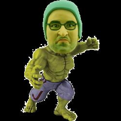 Custom Bobble Head Hulk