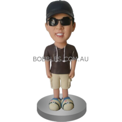 Custom Casual Buddy Bobblehead