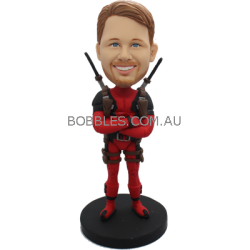 Custom Deadpool Bobblehead
