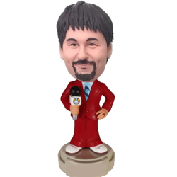 Custom Journalist Bobblehead