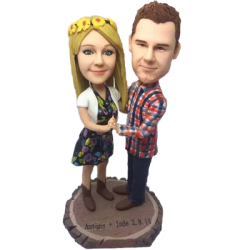 Dancing Couple Custom Bobbles