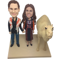 Desert Wedding Bobbleheads
