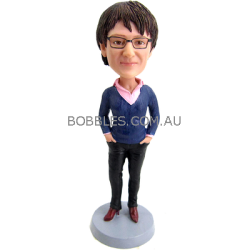 Fashion Mother Personalized Bobblehead