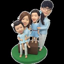 Happy Family Bobbleheads
