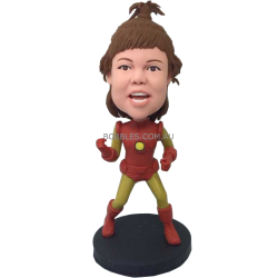 Iron Girl Custom Bobble Head