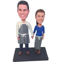 Kichen Couple Custom Bobbleheads