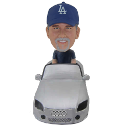 Man in Audi Bobblehead