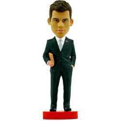Man with Profile Bobble Head