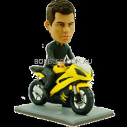 Motor Racer Custom Bobblehead