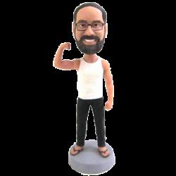 Muscular Man Bobblehead