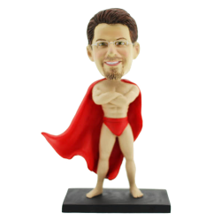 Naked Superman Personalised Bobblehead